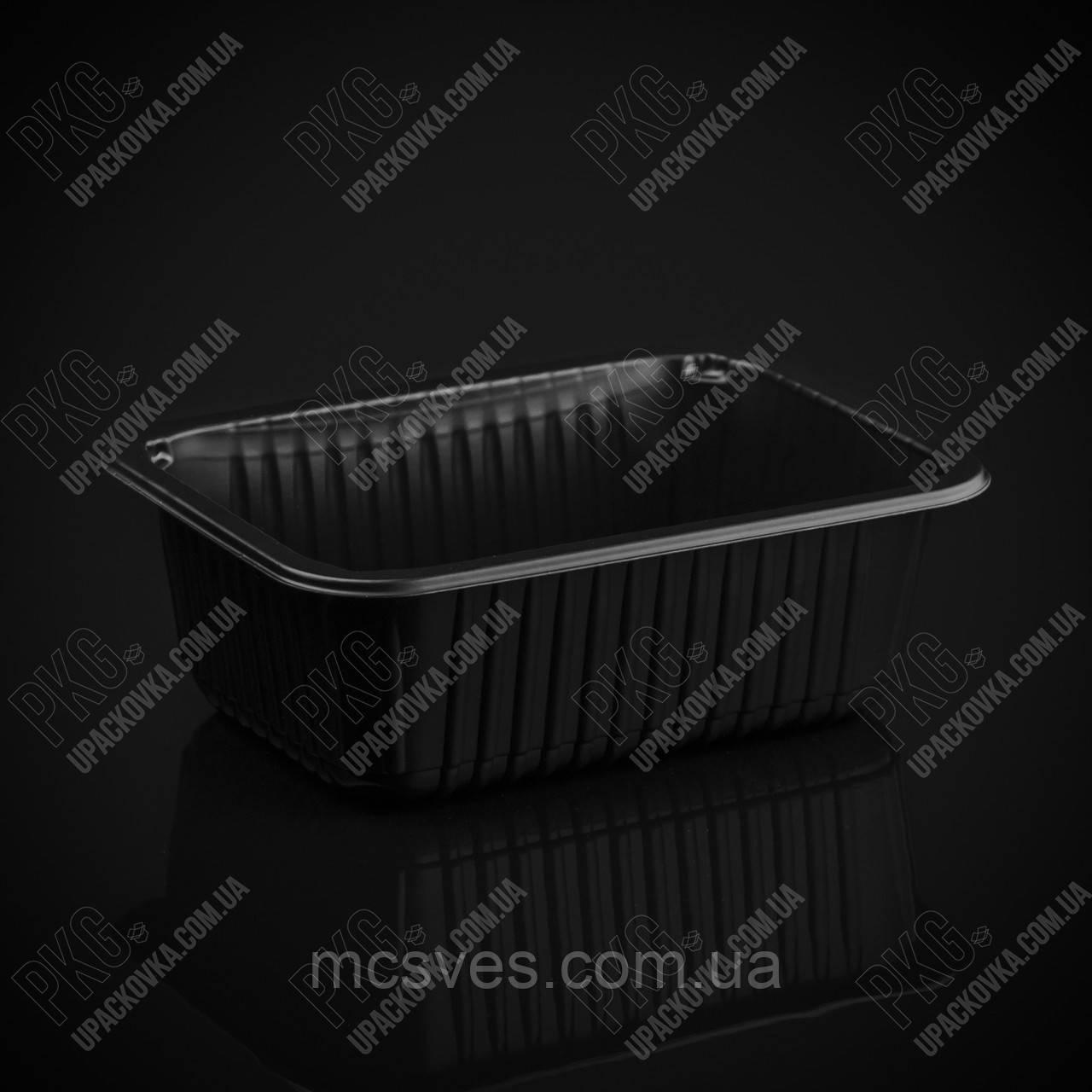 Контейнер КК-503Б, РР, чорний, 1100 мл