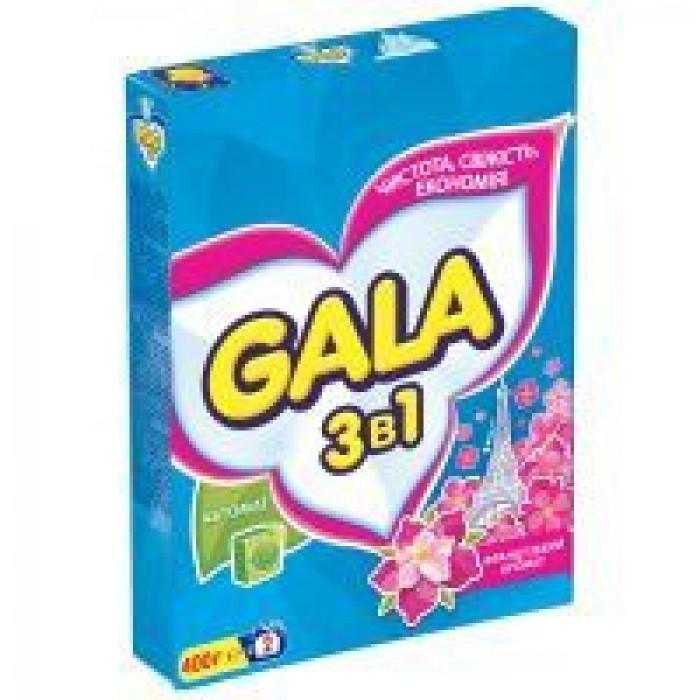 Стиральный порошок Gala 3в1 Французький аромат Автомат, 400г