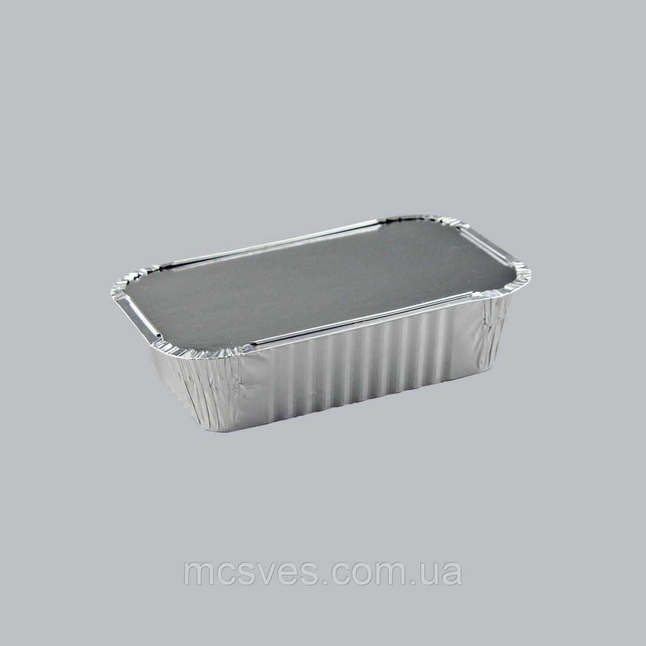 Контейнер с крышкой из пищевой алюминиевой фольги R21L