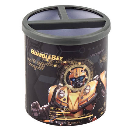 Стакан-подставка квадратный Kite Transformers BumbleBee Movie TF19-106, фото 2