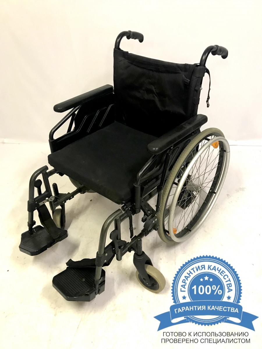 Инвалидная коляска каталка кресло Немецкая Sopur, 47 см сиденье.