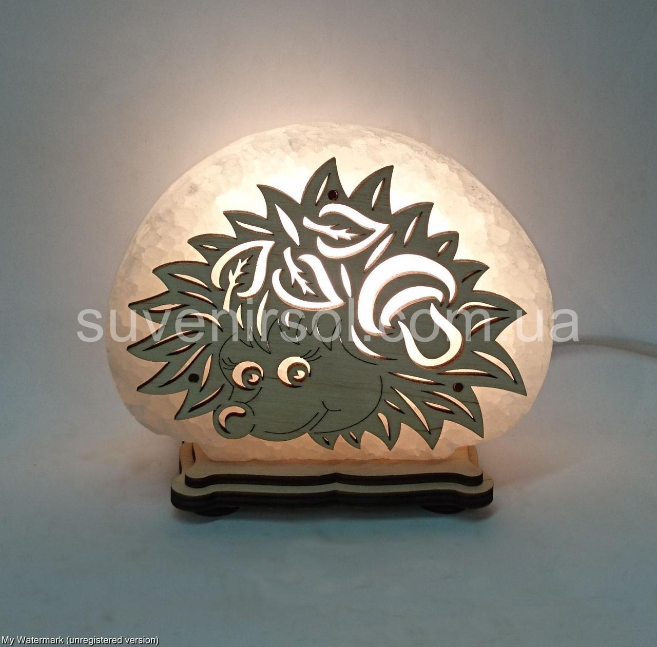 Соляная лампа Ёжик маленький