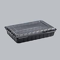 Пластиковая упаковка для суши и роллов ПС-61, 180 шт/уп