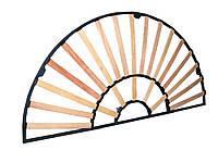 Каркас кровати круглый трёхконтурный