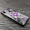 Чехол накладка для Xiaomi Redmi Note 5 Pro | Xiaomi Redmi Note 5 силиконовый Rock Series, Фиолетовый цветок, фото 3