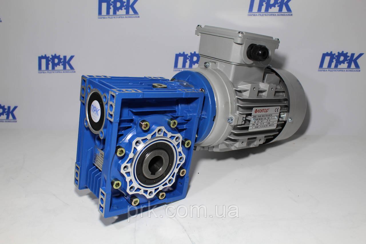 Мотор-редукторы червячные одноступенчатые тип  (NRV/NMRV)