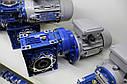 МОТОР-РЕДУКТОР PC 80 - NMRV 75/90/110/130 -0.37-0.75КВТ, фото 3
