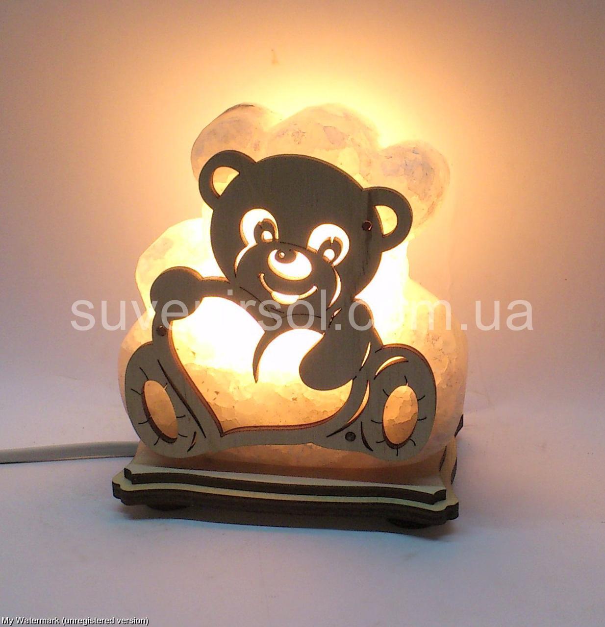 Соляная лампа Мишка маленький