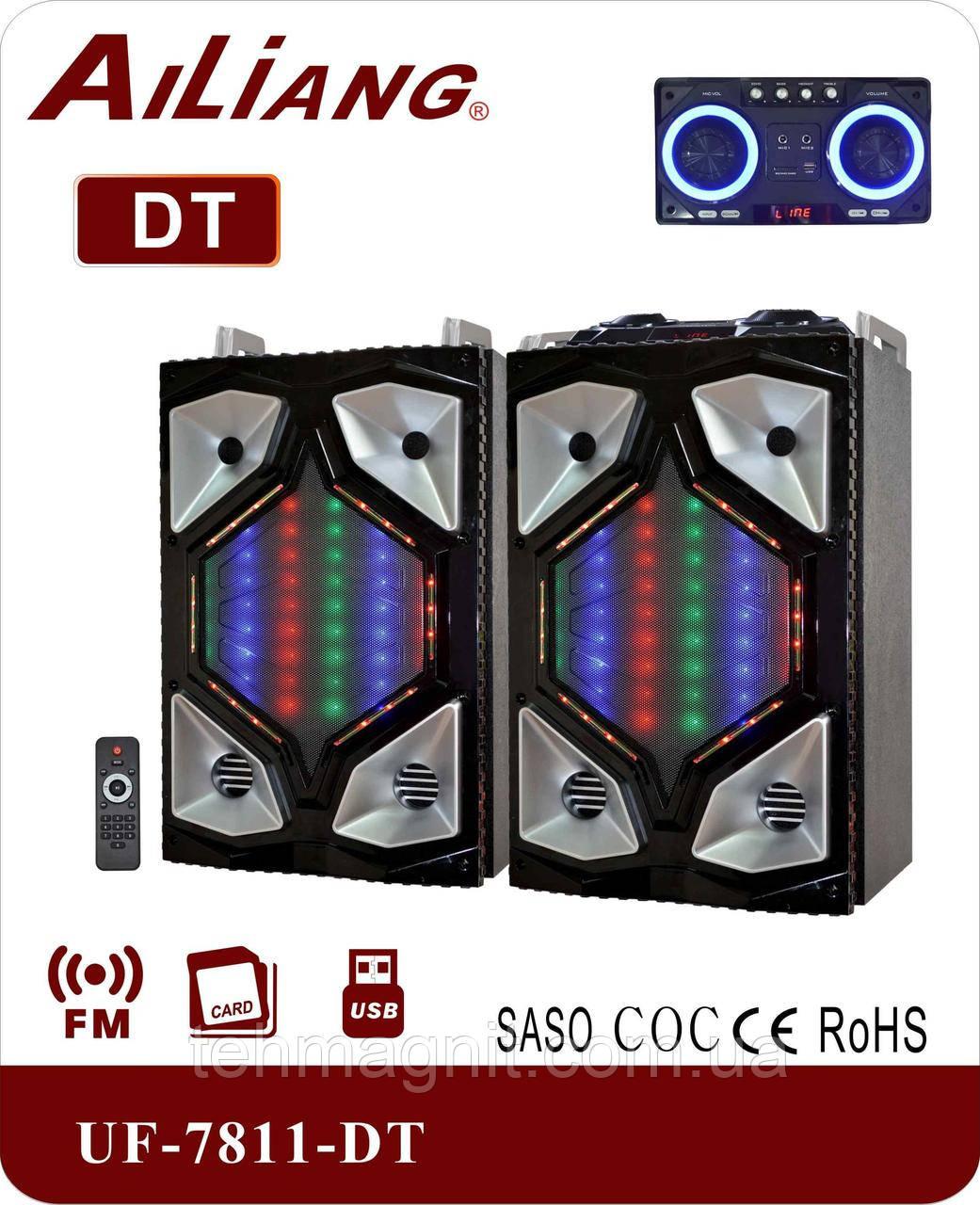 Активна акустична система AILIANG UF-7811-DT /2.1, Bluetooth, Пульт ДУ 200 Вт ( Репліка )