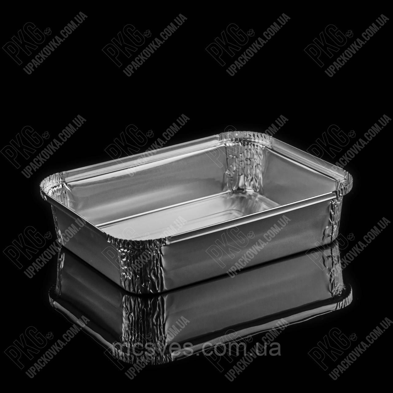Контейнер с крышкой из пищевой алюминиевой фольги R27L (210*160*45)