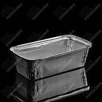 Контейнер с крышкой из пищевой алюминиевой фольги R44L (208*103*55)