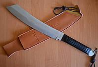Нож мачете туристический Слай, с мощным клинком для вырубки тростника, ветвей и настоящих бревен