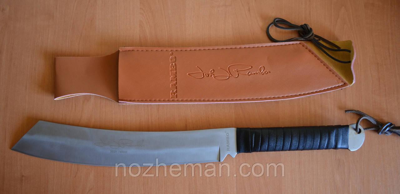 Нож мачете Слай, с мощным клинком для вырубки тростника, ветвей и настоящих бревен