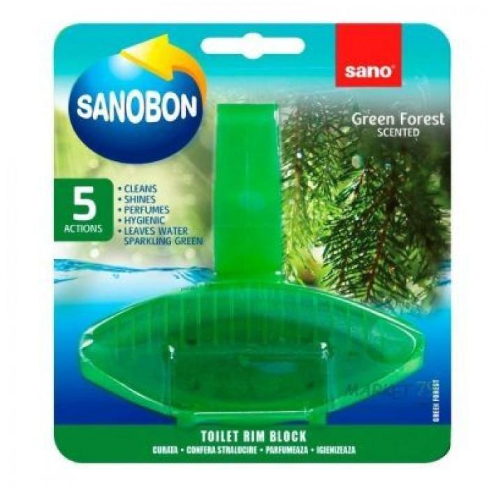 Гигиенический блок для унитаза Sano Хвоя, 0.55 г