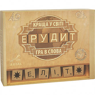 Настольная игра Arial Ерудит-Еліт (укр.), фото 2