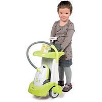 Тележка пылесос детский для уборки Smoby Rowenta 24406