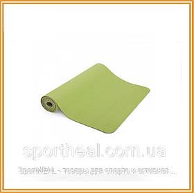 Килимок для йоги Bodhi Лотос Про зелений (lotus-pro-mat-green)