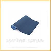 Коврик для йоги Bodhi Лотос Про синий (lotus-pro-mat-blue)