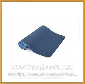 Килимок для йоги Bodhi Лотос Про синій (lotus-pro-mat-blue)