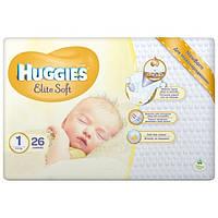 Подгузники Huggies Elite Soft 1 (до 5кг) 26шт