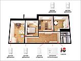 Комплект сигнализации Kerui G18 для 3-комнатной квартиры (в наличии). Оригинал! Гарантия 1 год, фото 2