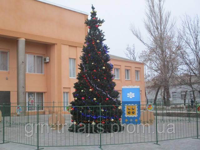 Новорічна ялинка 2019 Нижні Сірогози