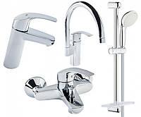 Набор смесителей для ванной и кухни Grohe EuroSmart 123248MK