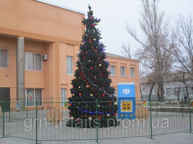 Новорічна ялинка 2019 с. Нижні Сірогози