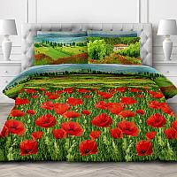 Цветущая альпика, постельное белье из 100% хлопка премиум