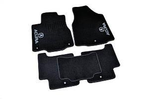 Коврики ворсовые для Acura MDX (2006-2013) /Чёрные 5шт BLCCR1001