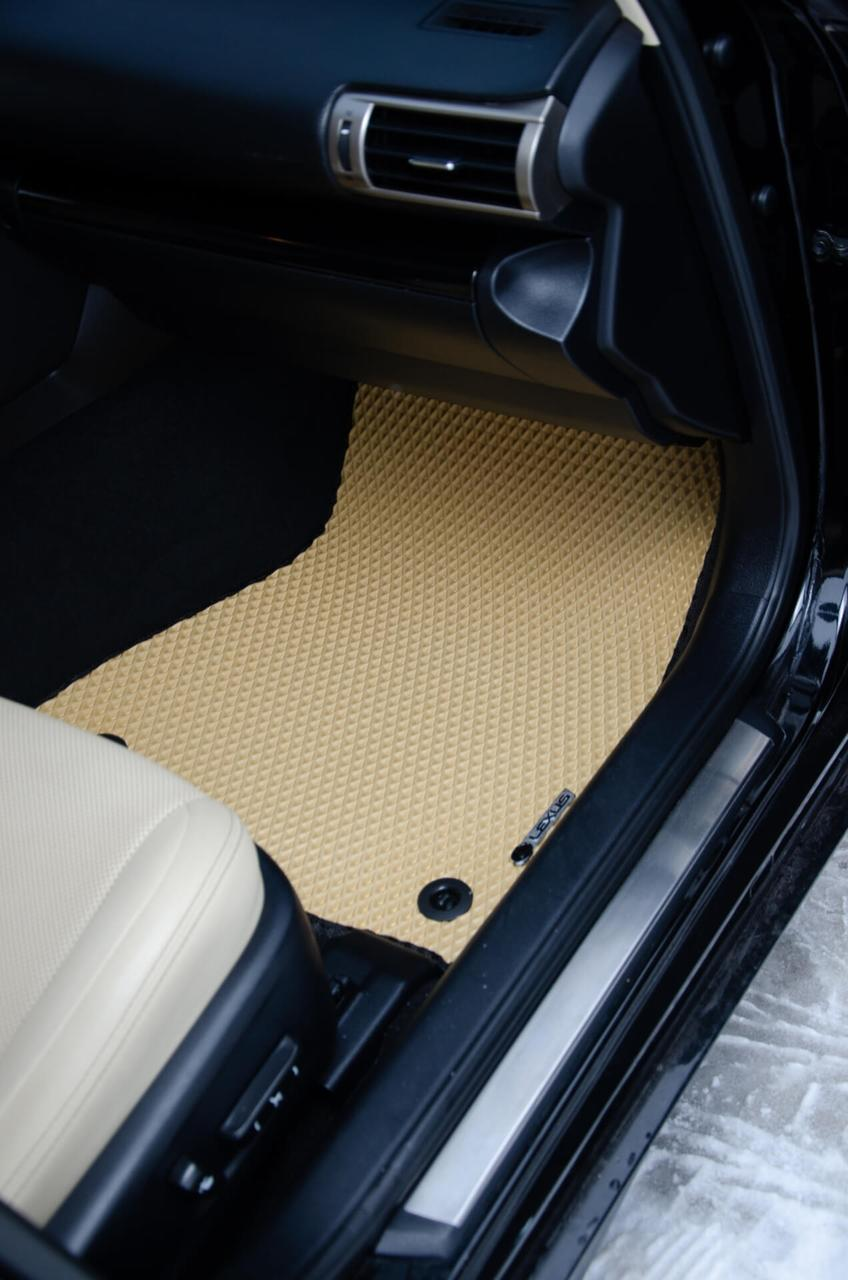 "Автоковрики ЭВА от ТМ ""EvaKovrik"" для Mitsubishi Pajero Wagon III 5D (1999—2006)"