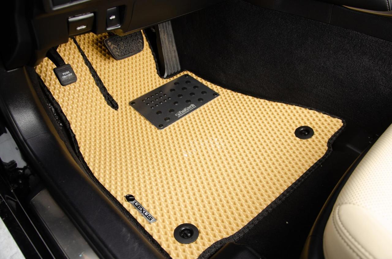 Автоковрики для Mitsubishi L200 (2012+) eva коврики от ТМ EvaKovrik