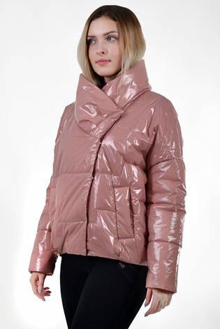 530b885206e Стильная женская демисезонная куртка KTL-295 - темно-розовая 44 размера -  Kattaleya Весна