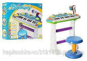 Детское музыкальное пианино. 16 мелодий. Световые и звуковые эффекты. 7235