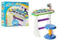 Детское музыкальное пианино. 16 мелодий. Световые и звуковые эффекты. 7235, фото 1