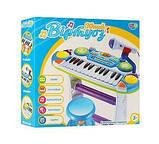 Детское музыкальное пианино. 16 мелодий. Световые и звуковые эффекты. 7235, фото 2