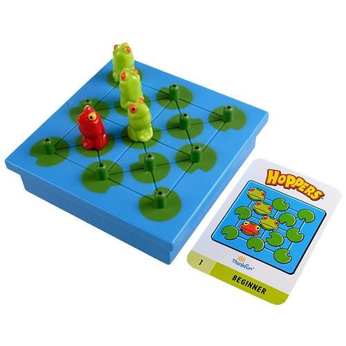 Настольная игра головоломка  Лягушки непоседы (ThinkFun Hoppers)