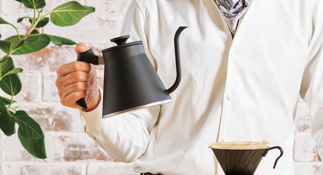 Японский Чайник Харио с нержавеющей стали для заваривания кофе альтернативным способом на 1,2л. купить
