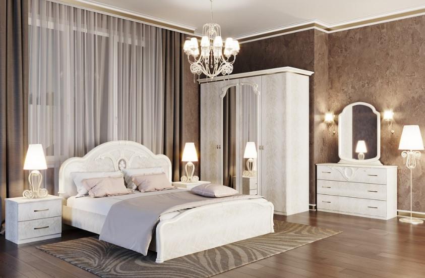 Спальня ЛАУРА 4Д роза (Свит Меблив)