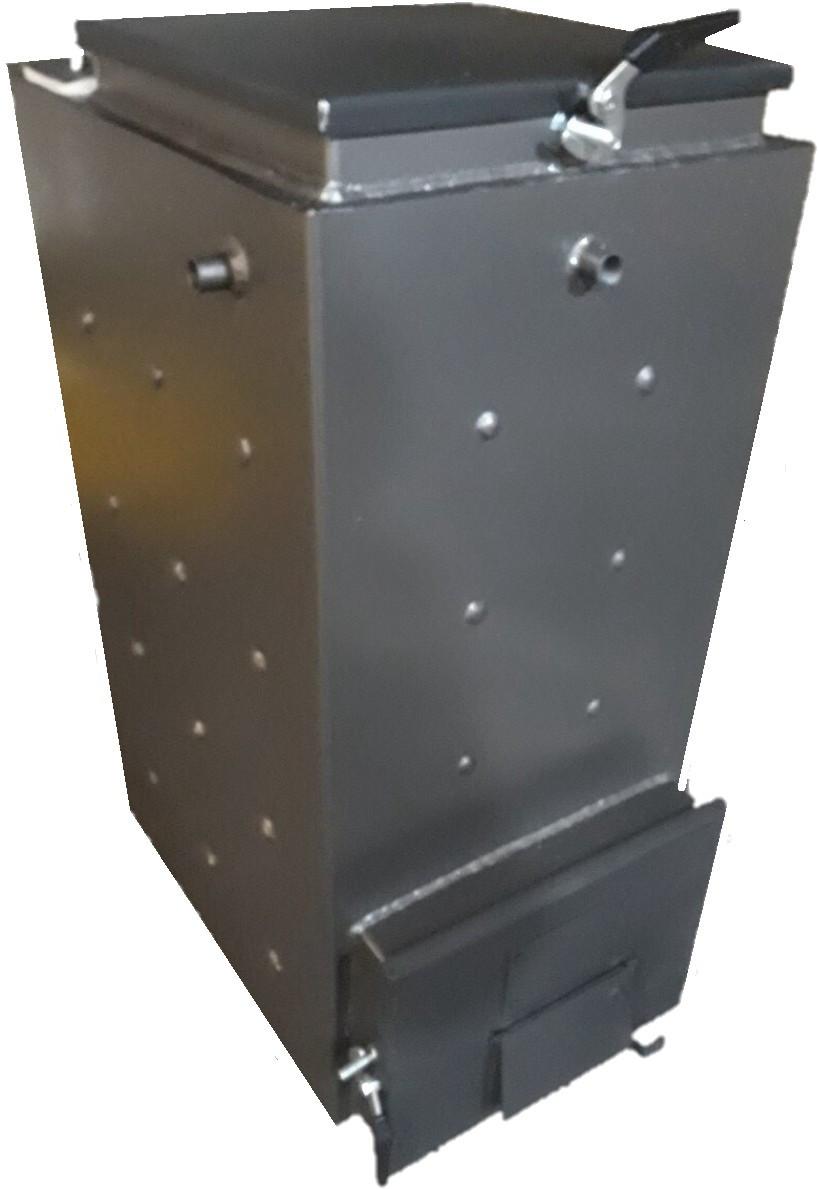 Твердотопливный котел шахтного типа Холмова 10 кВт ( без изол. )