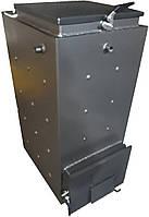 Твердотопливный котел шахтного типа Холмова 10 кВт ( без изол. ), фото 1