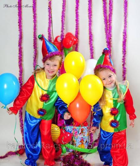 Детский новогодний костюм Петрушки