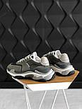 Женские кроссовки Balenciaga Triple S V2 Gray+. Живое фото (Реплика ААА+), фото 3