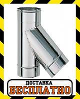 Тройник 45 Вент Устрой 0.8 мм, фото 1