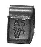 Груз балансировочный набивной для легкосплавных дисков ALU 5 г. упаковка 100 шт. TipTopol TPALU-005 (Польша) , фото 2
