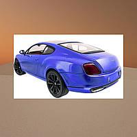 Машинка на радиоуправлении 1к14 Meizhi лицензированный Bentley Coupe. синий - 139616
