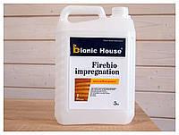 Огнебиозащитная пропитка для дерева Bionic House Firebio impregnation / Фаербио (уп. 5 кг)