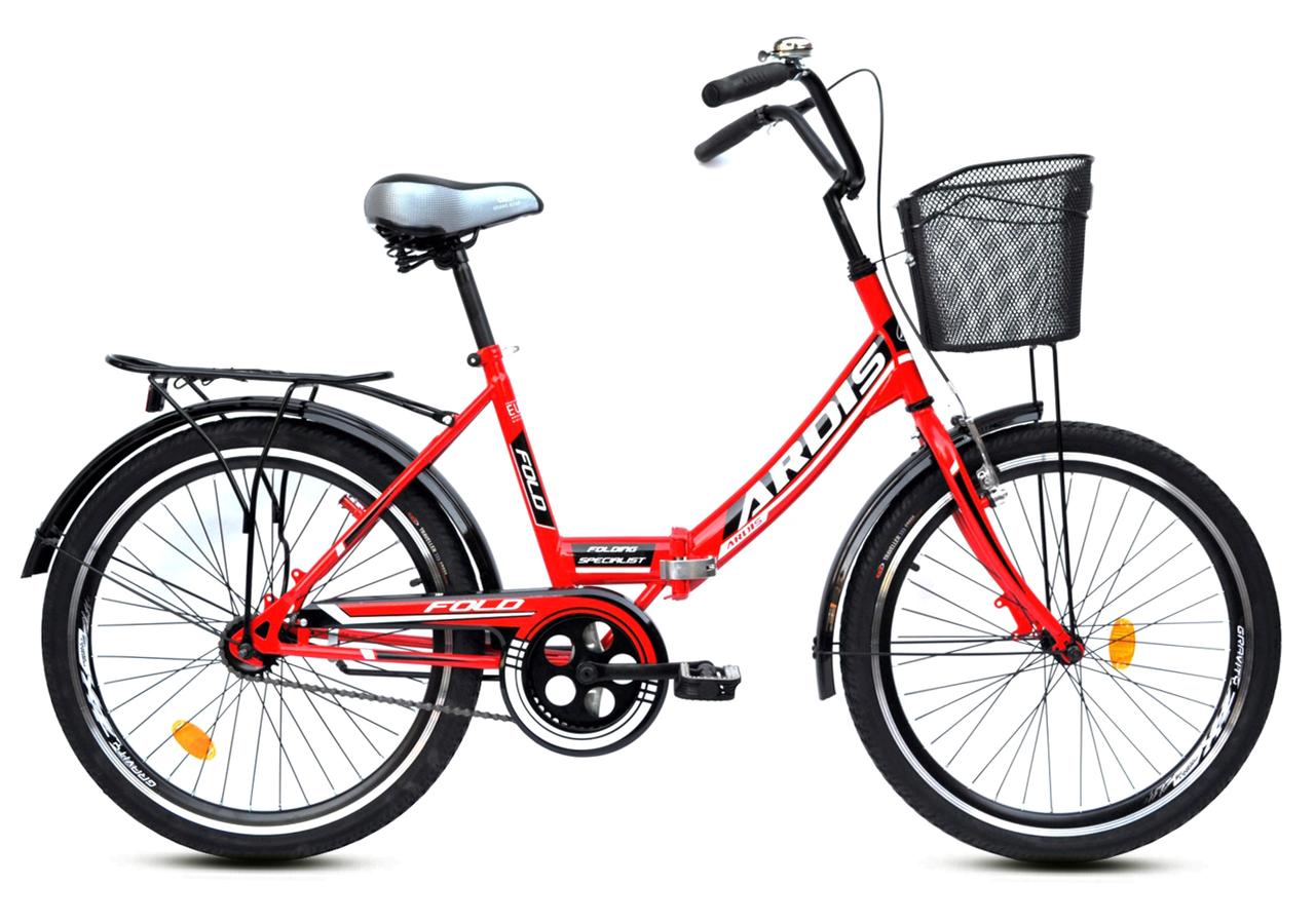 """Складной велосипед ARDIS FOLD 24"""" Оранжевый/Черный"""