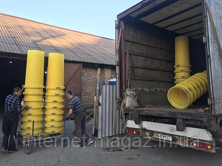 Рукав строительный прямой для сброса мусора , фото 2