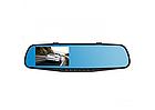 Дзеркало відеореєстратор DVR-138WI мультимедійне дзеркало заднього виду 1 камера антиблимове, фото 2